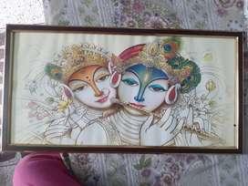 Radha Krishna picture frame. Never used.