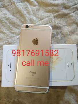 Excellent condition iPhone 6s 32 GB gold colour