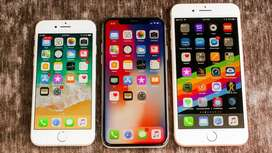 Refurbished Apple I phone X phone is available with all accessories  W
