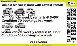 Get an Ola car on lease at low rental - Bengaluru