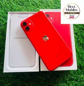 IPHONE 11 128GB RED BRAND NEW CONDITION