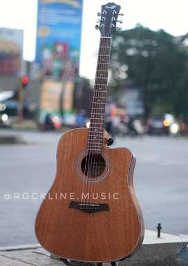 Gitar Akustik Jumbo ori