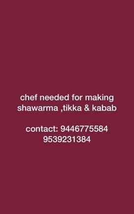 chef needed