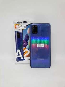 Samsung A21s 3/32GB Blue - DC COM Medan Fair Lt 4 thp 4 no 243