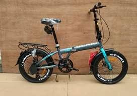 Kami menjual sepeda lipat Genio lunox ukuran 20 dan berkualitas