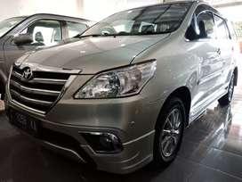 ANTIK Grand innova V luxury bensin matic 2013/2014 tgn 1 KM 60rb asli