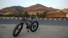 Hydra fat bike good condition 7-8 months used only
