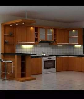 Kitchen set f harga bersahabat