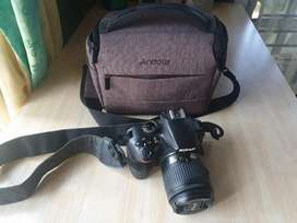 Dijual kamera Nikon D3400 second