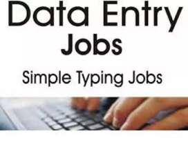DATA ENTRY WORK HOME BASE WORK