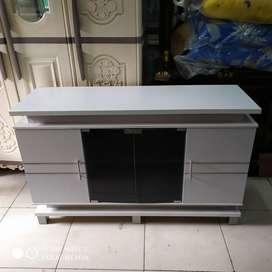 Rak tv minimalis P 120 x L 40 x T 72 cm )