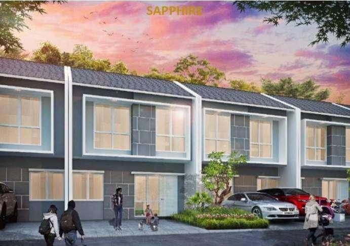 rumah mewah 2 lantai di karawang timur luas murah strategis