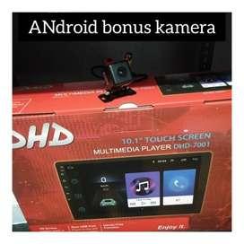 Sale promo murah//Head unit android +Kamera