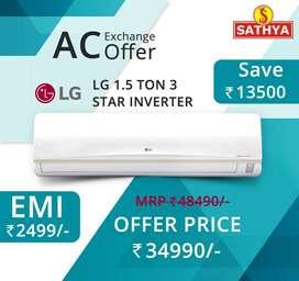 LG Ac Best Offer On Ur City