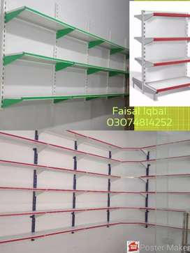 Light weight sloted angle rack,pharmacy rack. Complete mart solution