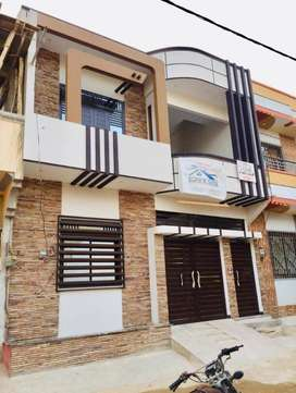 120 yards beautiful double story house block-5, saadi town