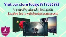 """Get Special Discount On All Size (24""""To 65"""") Led TVs- Best In Budget!"""