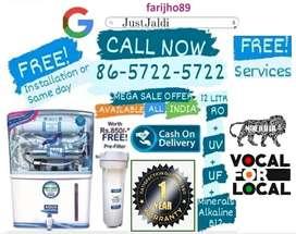 farijho89 RO water filter tv water tank water purifier AC dth.  1 y e