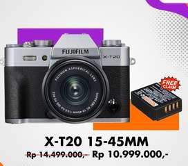 Fujifilm X-T20 promo kredit bunga ringan