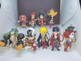 Gantungan Kunci Action Figure One Piece