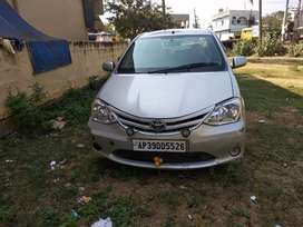Toyota etios car with better condition