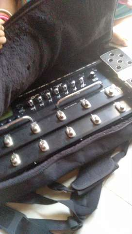 Efek gitar pod x3 live