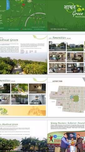 Plot for sell in sanand shashwat Green