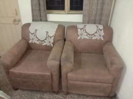 5 seater sofa & 4 seater dining table