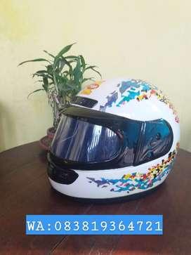 Helm Top 1 Fullface Jadul Lawas Klasik NOS Murah!