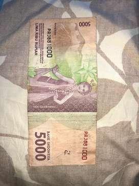 Nomor Uang Cantik