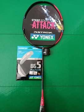 Raket badminton Yonex astrox clear paket