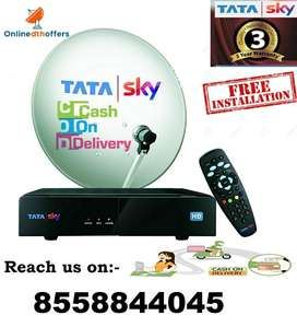 Tata Sky And Airtel New Digital DTh Connection