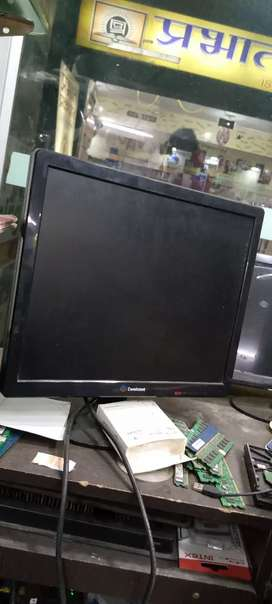 New monitor consistent 18 inch 1 year warranty