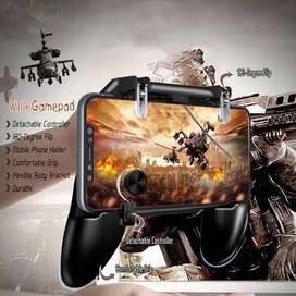 New W11+ Game Controller Free Fire Joystick Gamepad Metal L1 R1 Button