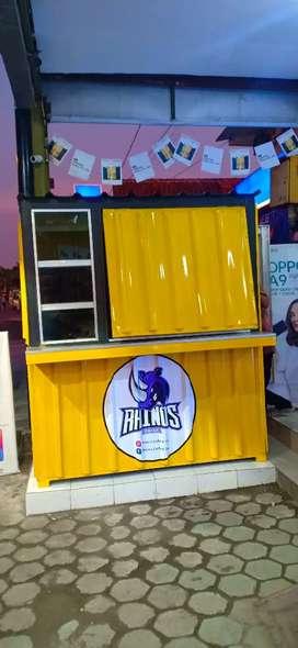Booth conteiner