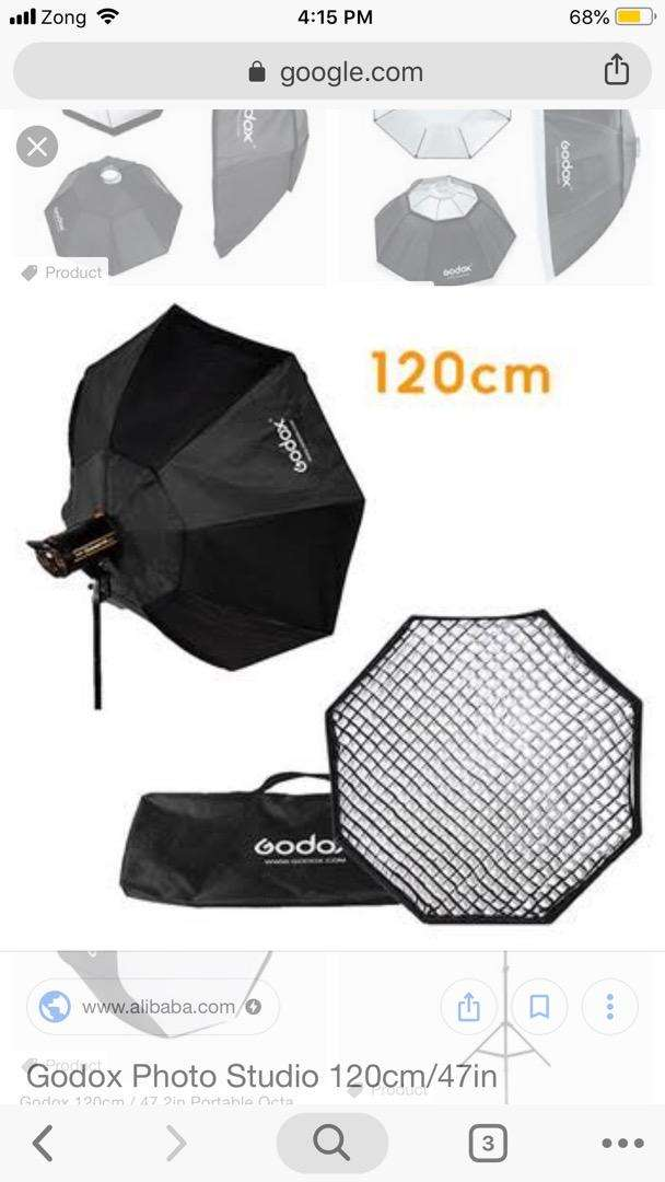Godox 120cm octabox Available 0