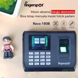 Mesin Absensi Fingerspot Revo-180B, Ada Backup Baterai