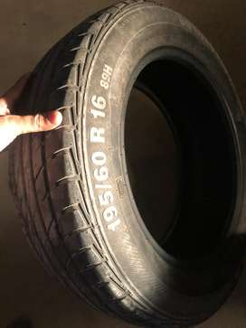 Honda BRV tyres set just like new