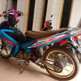 Jupiter mx 5 speed thn 2012 ss lengkap