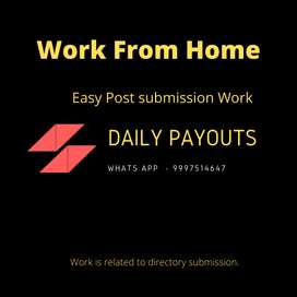 Post Submission | Work From Home