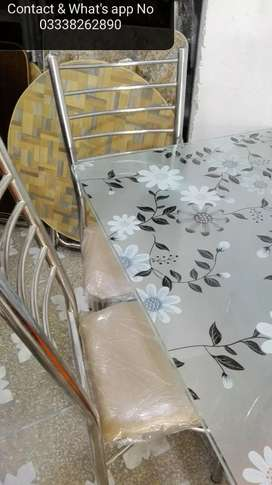 6 seater Dining Set In Hole Sale