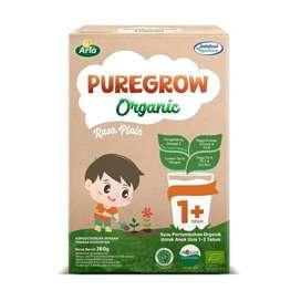 Puregrow Organic Susu pertumbuhan 1-3 Tahun