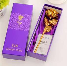 Beautiful Gift for Your Love One's Gold Rose