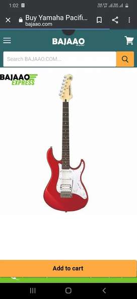 Electric guitar Yamaha best condition