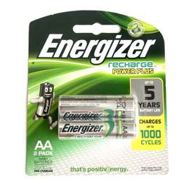 Baterai Cas Energizer AA 2000 mAh | Battery Recharge Power Plus