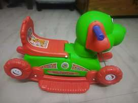 Rocking horse and dragging cycle