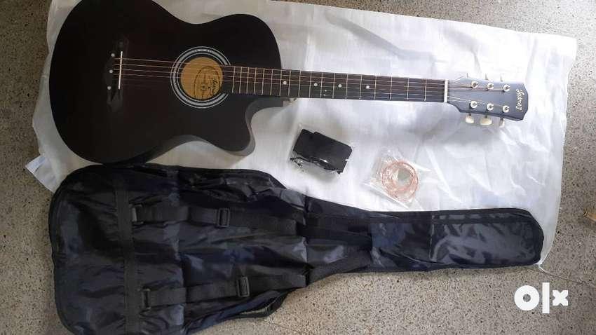 38 inches Black Guitar 0