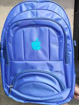 Laptop and college bag