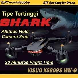 Drone VISUO XS809HW-G Wifi FPV 2MP Wide Camera