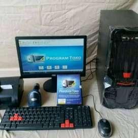 Paket Komputer Kasir Toko Koperasi Apotik Resto Cafe Warung Lengkap